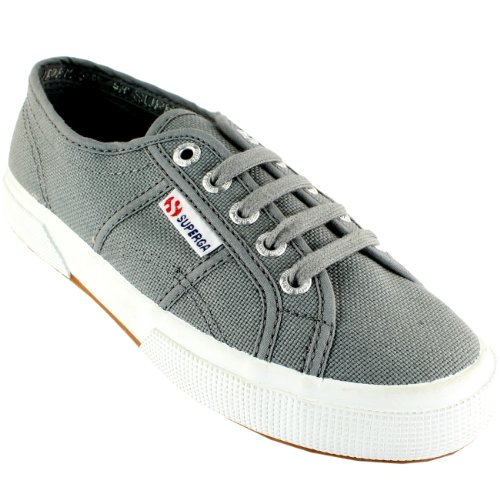 Superga Damen 2750 Cotu Canvas Trainer Grau