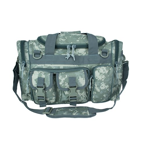 Osage River Tactical Duffel Bag. Osage River Duffel Bag for Traveling, Camping, in the field and at the Gym. (ACU Digital Camo Tactical Duffel Bag, 18 in. L x 12 in. W x 11 in. H)