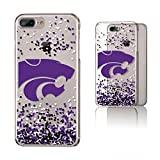 Keyscaper KCLR7X-0KSU-FETTI1 Kansas State Wildcats iPhone 8 Plus / 7 Plus / 6 Plus Clear Case with KS Confetti Design