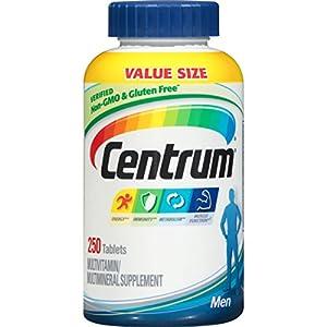 Centrum Centrum Multivitamins, Men's, 250 Count
