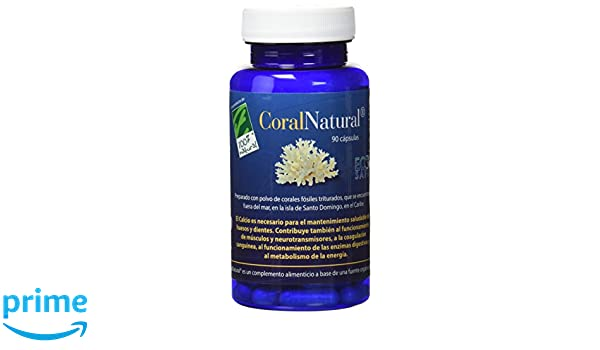100% natural Coral Natural Minerales - 90 Cápsulas: Amazon.es: Salud y cuidado personal