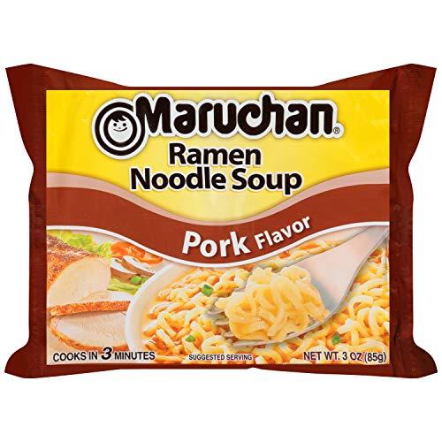 Maruchan Ramen Pork Flavor, 3.0 Oz, 24 ()