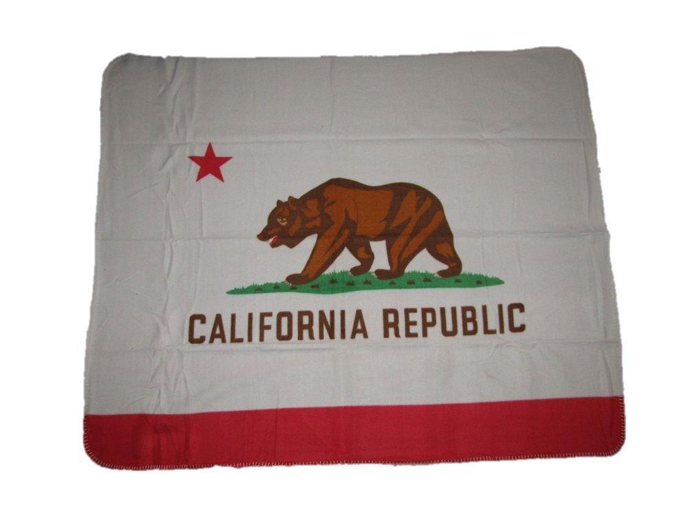 California Blanket State of California Flag 50x60 Polar Fleece Blanket Throw