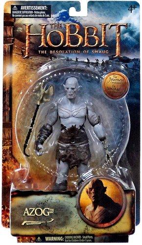 Hobbit Figur Azog Ork aus Hobbit  Smaugs Einöde  - bewegliche Spiel und Sammelfigur