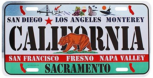 Dimension 9 Home Decorative Plate, California