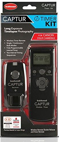 Hahnel Captur Remote Camera/Flash Trigger Captur Remote Timer Kit for Canon, Black (HL -CAPTUR TK-C)