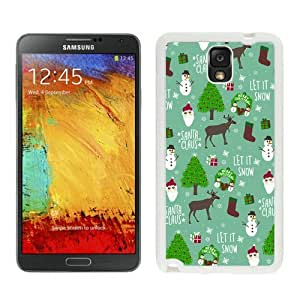 Personalized Merry Christmas White Samsung Galaxy Note 3 Case 18