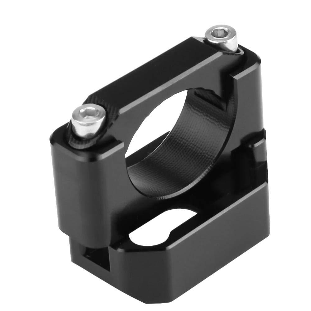 22mm-28.6mm Speed Gear Display Holder fit Speed Gear Display Bracket Indicator Holder Bracket Black for Honda Yamaha Kawasaki Suzuki