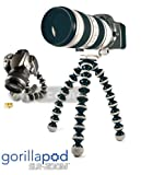 JOBY GorillaPod SLR Zoom. Flexible Tripod for DSLR and Mirrorless Cameras Up To 3kg. (6.6lbs).