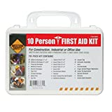 10 Person First Aid Kit Garage Lab Workplace Hardware Construction Safety Tool