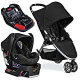Britax 2017 B-Agile/B-Safe 35 Travel System. Black & Extra B-Safe 35/Elite Base