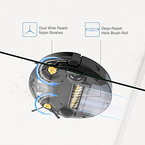 A Robotic Vacuum Cleaner Which Can Vacuum  Rooms