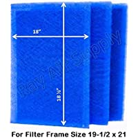 Dynamic Air Filters (3 Pack) (19 1/2 x 21)