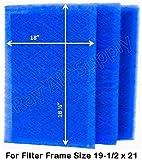 RAYAIR SUPPLY 19.5 x 21 Dynamic Air Filters (3 Pack) (19 1/2 x 21)