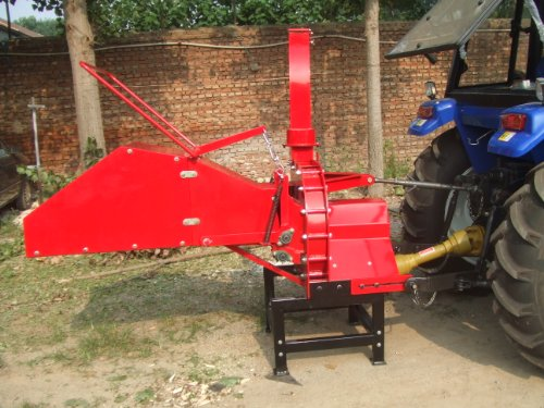 Pto Wood Chipper (6'' Advanced Wood Chipper - Mulcher - Shredder - PTO)