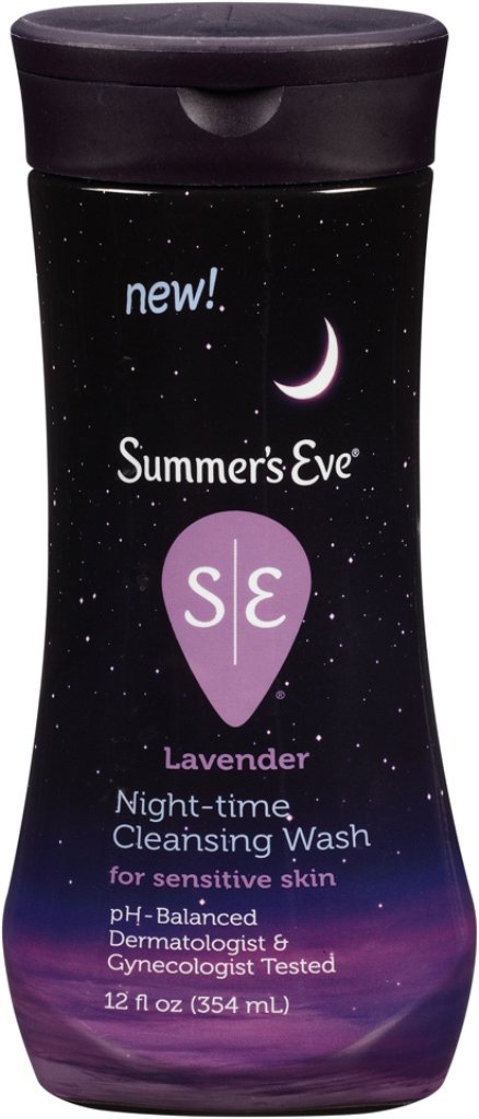 Summer's Eve Cleansing Wash | Lavender | 12 Ounce | Pack of 1 | pH-Balanced, Dermatologist & Gynecologist Tested