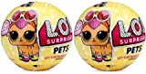 #6: L.O.L. Surprise Pets Series 3-Wave 1 Unwrapping Toy Set of 2