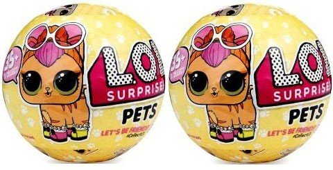 L O L  Surprise Pets Series 3 Wave 1 Unwrapping Toy Set Of 2