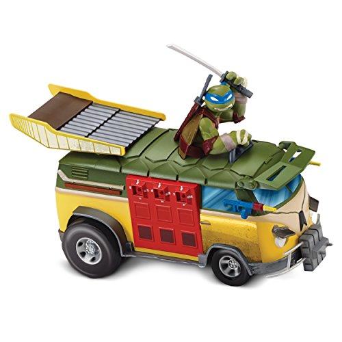 Teenage Mutant Ninja Turtles Party Wagon - Auto Tuner Party Van with Sound - Leonardo (Teenage Mutant Ninja Turtles Van)