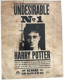 Amazon.com: Auténtica pared de Harry Potter Undesirable No 1 ...