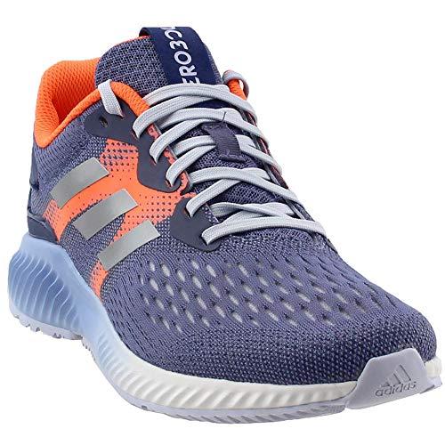 premium selection 6853f 1273c adidas Performance Womens Aerobounce w Running Shoe, Raw IndigoMetallic  SilverHi-Res Orange, 8 M US