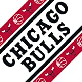 Chicago Bulls Wall Border Bright Red