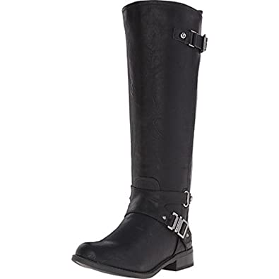 G by Guess Womens Herly Closed Toe Knee High Fashion Boots Black LL Size 10.0