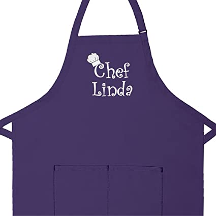 61fb72c837b Amazon.com  Personalized Apron Embroidered Chef Any Name Design Add ...