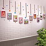 TIANTA- Solid Wood Frame Wall Creative Home Decoration Children Bedroom Bedroom Personality Combination Photo Wall adorn ( Color : #5 )
