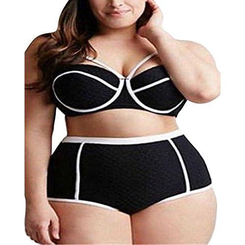 Talle De Shifan Conjuntos Baño Traje Bikinis Alto Para Mujer c354LjARqS