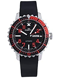 Fortis B-42 Marinemaster Day/Date GMT Automatic Steel Red Mens Strap Watch 670.23.43 K