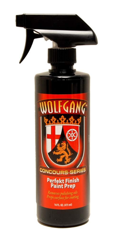 Wolfgang Concours Series WG-4400 Finish Paint Prep, 16 fl. oz. Wolfgang Concourse Series