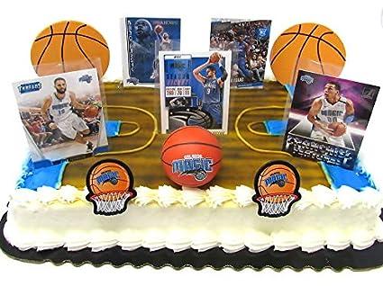 Amazon.com: Orlando MAGIC - Juego de decoración para tartas ...