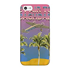 Baghdad Full Wrap High Quality 3D Printed Case for iPhone 5C by Nick Greenaway + FREE Crystal Clear Screen Protector