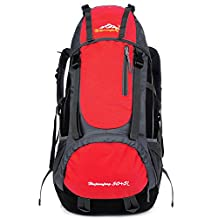 KALRI 55L Hiking Daypack/Camping Backpack/Travel Daypack/Casual Backpack for Outdoor Climbing School