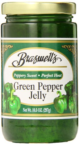 (Braswell Pepper Jelly, Green, 10.5 Ounce (Pack of 6))