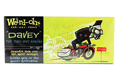 (Weird-Ohs Car-Icky-Tures Davey the Way out Cyclist Paintable Model Kit)