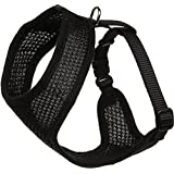 "Coastal Pet - Mesh Cat Harness, Neck: 8"" - 10"", Girth: 14"" - 16"", Black"