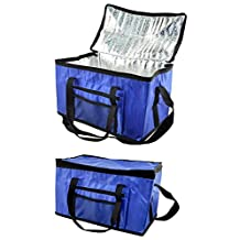Puregadgets? Extra Large 26L Cooler Cool Bag Box Picnic Camping Food Drink Lunch Festival Shopping Outing Car Fishing Hiking Ice 48 Cans by Puregadgets