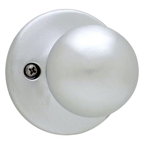 Satin Nickel Kwikset 300P-15V1 Security Series Polo Privacy Door Knobset