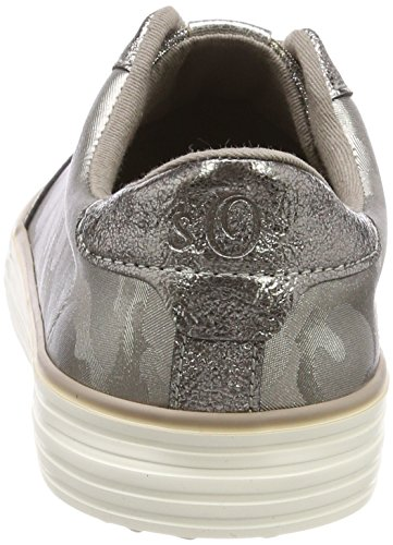 top Sneakers pewter 23646 oliver Women''s Silver S Low WTZxz60Wn