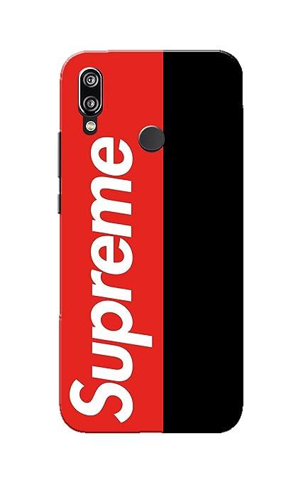 newest 0a09e f5294 Caseria Supreme Red Black Slim Fit Hard Case Cover for: Amazon.in ...
