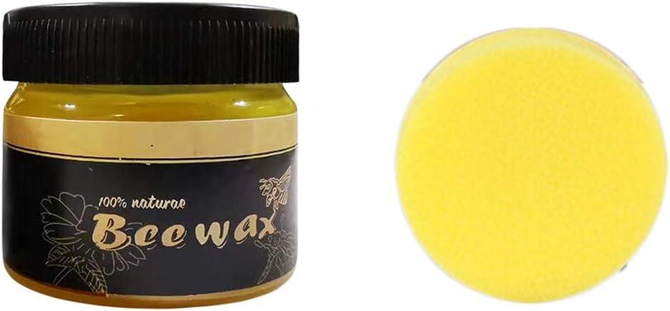 Wood Seasoning Beewax,Multipurpose All Natural Beeswax - Furniture Care Beeswax Polish,Home Cleaning Beeswax for Furniture,Cutting Board, Bowl and Housewar (Multicolor)