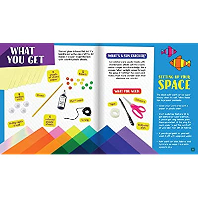 Klutz Sun Catchers Craft Kit: Toys & Games