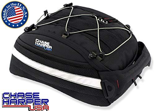 Chase Harper USA 5400 CR2 Tail Trunk- Water-Resistant, Tear-Resistant, Industrial Grade Ballistic Nylon with Adjustable Bungee Mounting System for Universal Fit ()