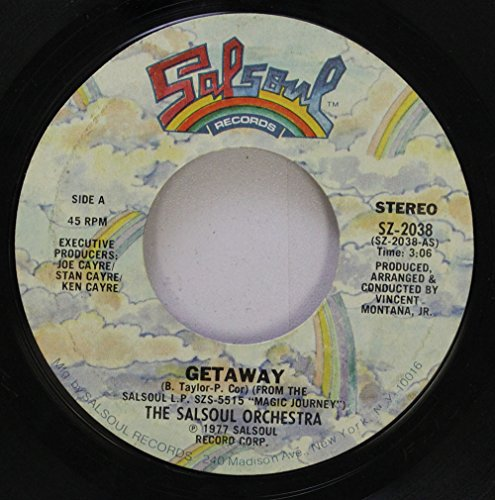 (THE SALSOUL ORCHESTRA 45 RPM GETAWAY / MAGIC BIRD OF FIRE)