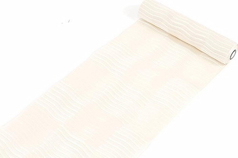 西村織物謹製 正絹 本場筑前博多織 八寸名古屋帯 うすピンク(市松) 絹100% B078MWPPDG