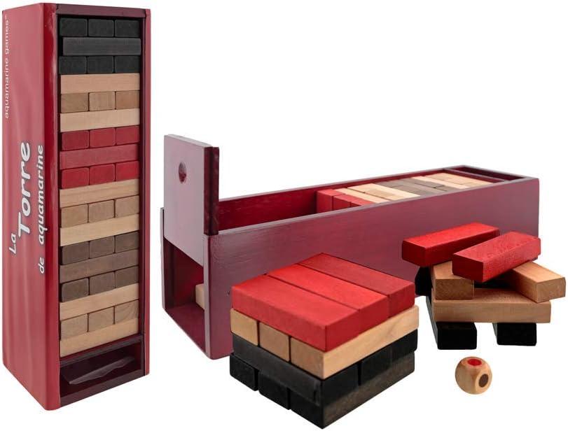 Aquamarine Games Torre Pro XL, Juego de Habilidad (Compudid CP310026), 60 x 50 x 20 cm: Amazon.es: Juguetes y juegos