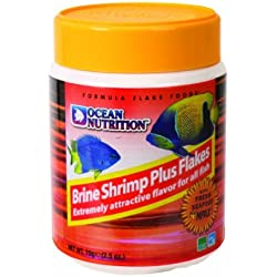 Ocean Nutrition Brine Shrimp Plus Flake 2.5 oz.