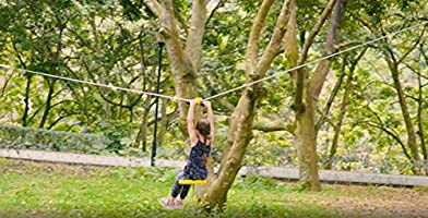 A Surprise Gift for Children A Surprise Gift for Children Up to 250lb Yellow with Zipline Brake and Seat SHENZHEN TIANCHENG CREATIVE TECHONLOGY CO Zipline Trolley for Backyard Entertainment Equipment LTD CTSC 95 Foot Zip Line Kit for Kids and Adult